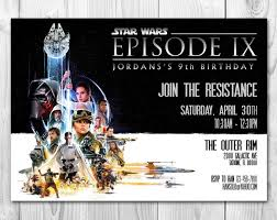 19 best star wars birthday invitations images on pinterest