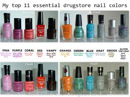 22 fabulous essential nail polish colors u2013 slybury com