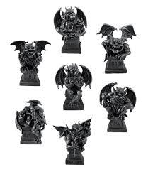 magnificent seven deadly sins gargoyle figurine set of 7 statue