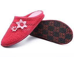 Bedroom Shoes For Womens Amazon Com Le Kapmoz Women U0027s Boiled Wool Cozy Slip On House