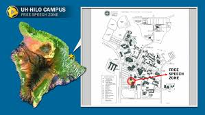 Uh Campus Map University Of Hawaii At Hilo Map Montana Map