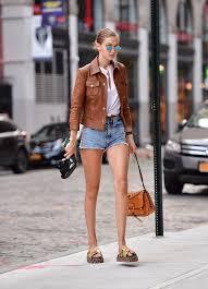 style ideas models spring street style popsugar fashion