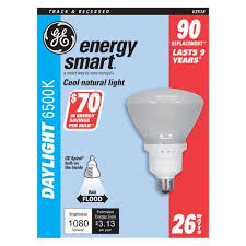 ge energy smart cfl light bulbs 13 watt 60w equivalent ge energy smart cfl bulb 26 watts 1170 lumens floodlight r40 1 in l