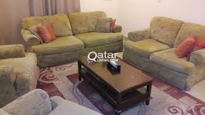 middle table living room last sale price all for 700 qrs urgent sale american sofa set