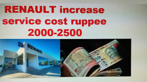 renault cost renault kwid free service cost increases ruppee 2000 hindi