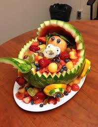 Fruit Decoration Ideas For Baby Shower Awesome Watermelon Baby Shower Cake 63 About Remodel Baby Shower