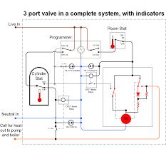 motorised valve wiring diagram on upperplumbers two port heating