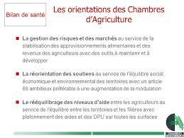 chambre agriculture 69 bilan de santé de la pac bureau de la chambre d agriculture de la