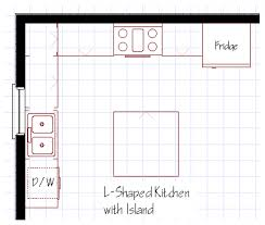 best free kitchen floor plan layout furniture mgl09 3049