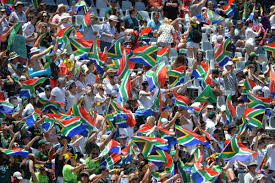 Cricket Flags A Sea Of South African Flags As Blitzboks Take On Wales In Cape