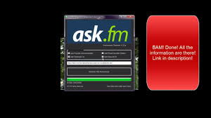 Ask Fm Ask Fm Anonym Finder Ask Fm Anonymous Tracker 2017
