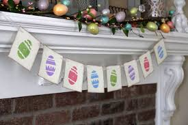 Easter Garlands Decorations by Cute Handmade Easter Garland Ideas You Can Craft Before Easter