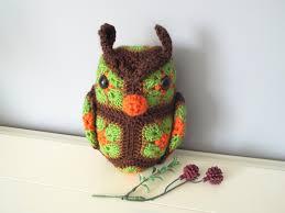home decor handmade crafts crochet owl amigurumi owl soft owl toy decorations african