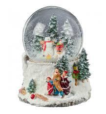 santa u0027s sleigh musical christmas snow globe caz cards leitrim ireland