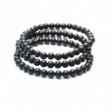 onyx beads bracelet images Matte black onyx beads bracelet bundle mr minimalist jpg