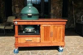 large green egg table big green egg table plans large custom big green egg cart diy large