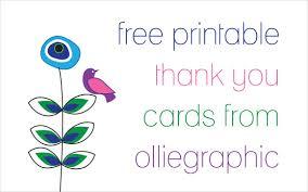 9 printable thank you card templates free sle exle