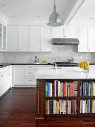 Kitchen Backsplash Tile Kitchen Backsplash Fabulous White Cabinets With Glass Backsplash