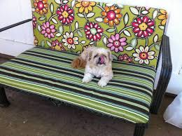 Make Cushions For Patio Furniture Naptime U003d Craft Time No Sew Patio Furniture Cushion Re Do