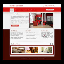 home interior website creative best website template psd for sale to create your