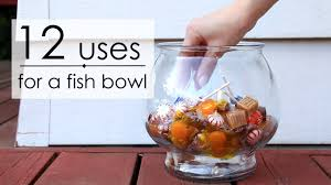 what to do with an 12 uses for a fish bowl