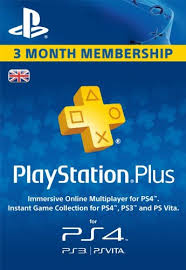 ps4 gift card uk sony playstation plus psn store membership gift card code