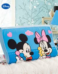 popular minnie mouse crib bedding buy cheap minnie mouse crib blue minnie mickey mouse memory pillows 40x25cm home decor children s baby cot crib bed bedding slow