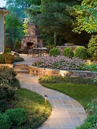 Sloped Backyard Design Ideas Landscape Designs For Backyards Exceptional 25 Best Ideas About