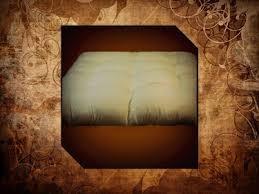 organic wool u0026 cotton cot futon 8