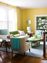 decorating ideas for a yellow living room better homes and