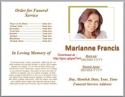 Programs For Funeral Services Funeral U0027 In Funeral Program Templates Scoop It
