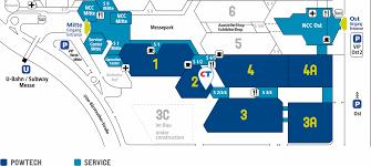 Ncc Campus Map Ceramtec Etec Hochleistungskeramik Auf Der Powtech 2017 Nürnberg