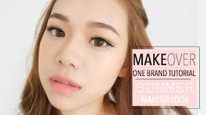 Eyeshadow Wardah Vs Makeover makeover indonesia one brand tutorial summer makeup look molita