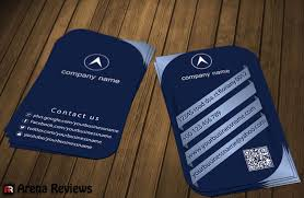 Youtube Business Card Blue Corporate Business Card Template Download Free