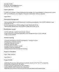 Sap Resume Samples For Freshers by 40 Fresher Resume Examples