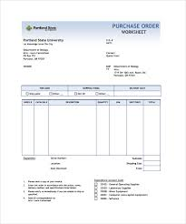 Free Excel Purchase Order Template Order Form Template 23 Free Documents In Pdf Word Excel