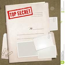 top secret report template top secret folder stock illustration illustration of