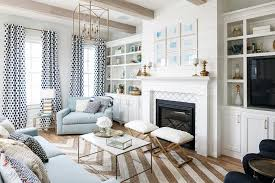 Global Views Arabesque Rug White And Blue Living Room With Taupe Jute Herringbone Rug