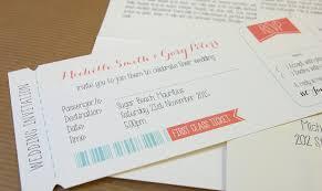 boarding pass wedding invitations boarding pass wedding invitation modernstork