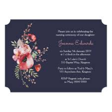 ceremony cards naming ceremony invitations announcements zazzle
