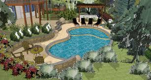 Backyard Design Online by Www Landscape Design Advice Com Online Landscape Design Html Learn