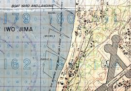 Iwo Jima On World Map by Secret Maps