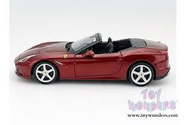 california model car california t open top by bburago race play 1 24