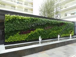 green wall design concept construction methods exterior walls