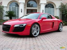 Audi R8 Red - 2009 brilliant red audi r8 4 2 fsi quattro 25841890 gtcarlot