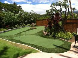 Putting Turf In Backyard Birmingham Al Putting Greens U0026 Artificial Grass Turf For Golf