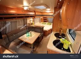 Caravan Interiors Dusseldorf August 27 Interior Modern Camper Stock Photo 111394856