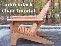 What Are Adirondack Chairs Adirondack Chair Tutorial