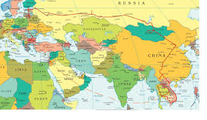 World Map Middle East by Map Of Africa And Asia My Blog