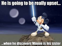 Mickey Mouse Meme - darth vader mickey mouse from that s so vader top star wars